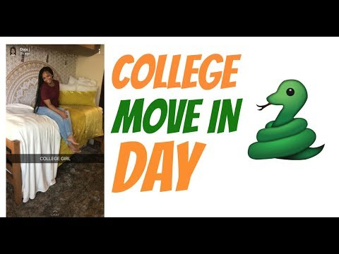 College move in day vlog | FAMU |