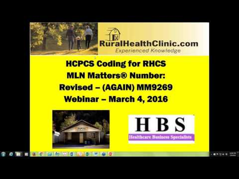 2016 03 04 12 00 Repeat Session  HCPCS Coding Changes effective April 1, 2016  A Brief Overview