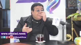 أحمد آدم : تجربة 'مسرح مصر' لا تناسبني .. وأحب أشرف عبد الباقي كمتفرج.. فيديو وصور