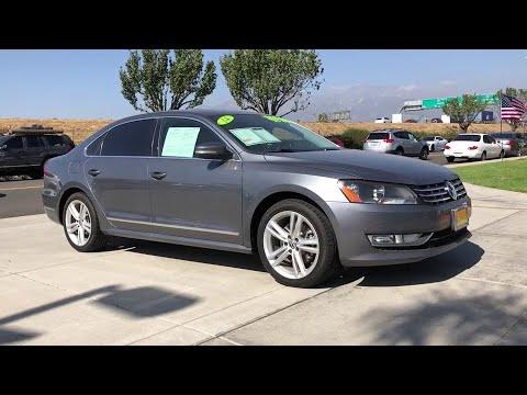 2014 Volkswagen Passat Ontario, Claremont, Montclair, San Bernardino, Victorville, CA PW9100T