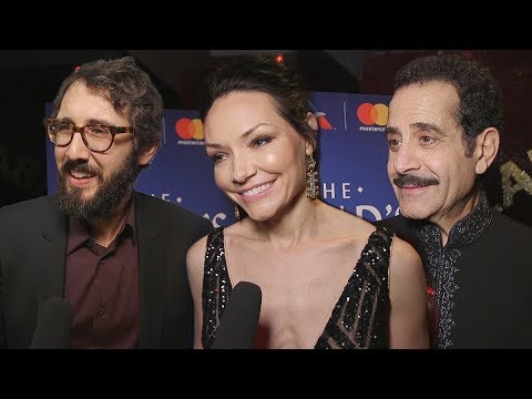 Stars Ask the Stars at the Broadway Opening of The Band's Visit streaming vf