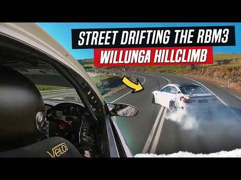 The RBM3 Drifts up Willunga Hillclimb 2020