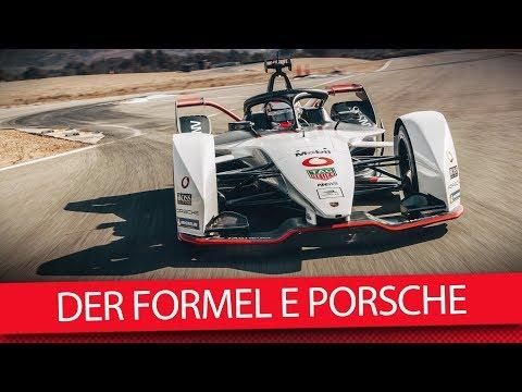 So sieht der neue Porsche aus! - Formel E 2019 (VLOG)