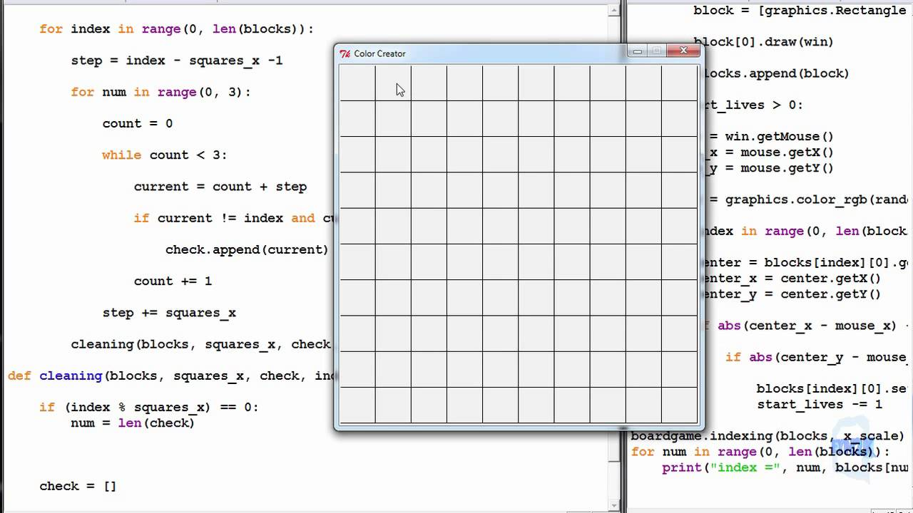 Python Exercise 19 3 - Board Indexing