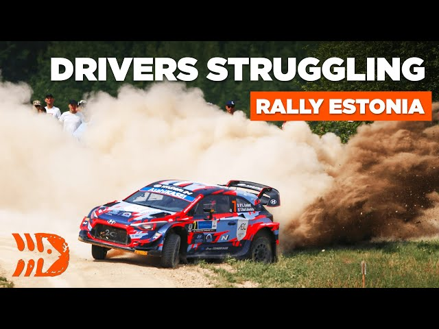 Rally Estonia 2021 - Drivers Struggling To Stay On The Road