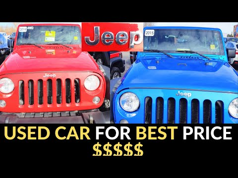 Shopping For Used Car In Canada...Used Jeep Price By Canadadarshan1000