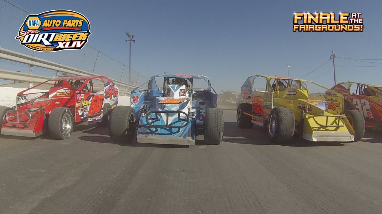 2015 Napa Auto Parts Super Dirt Week Ride Along In The Syracuse