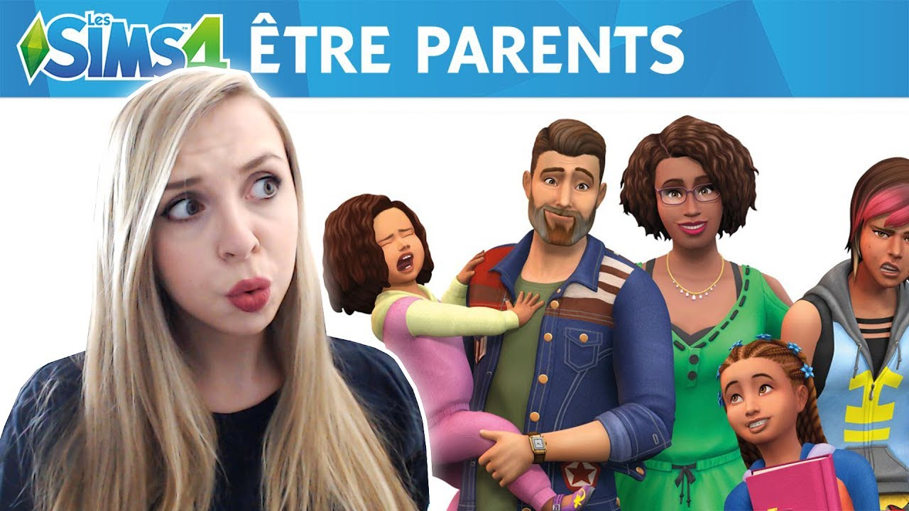sims 4 etre parents d couverte live youtube. Black Bedroom Furniture Sets. Home Design Ideas