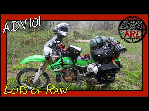 A First Adventure (Motocamping Solo) - ADV 101 Episode 5