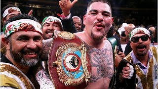 Conor McGregor congratulated new heavyweight champion Andy Ruiz Jr. on Twitter, after saying 'box...