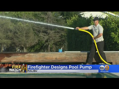 LA Firefighter Says His Pool Pump System Gives Homeowners 'A Fighting Chance' Against Wildfires