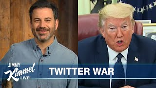Jimmy Kimmel's Quarantine Monologue – Trump Wants to SHUT DOWN Twitter