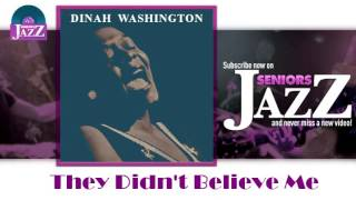 Dinah Washington - They Didn