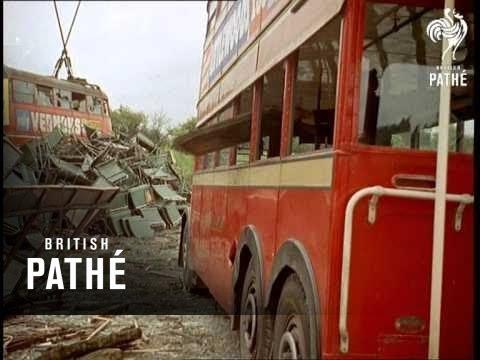 Trolleybus BreakUp 1959