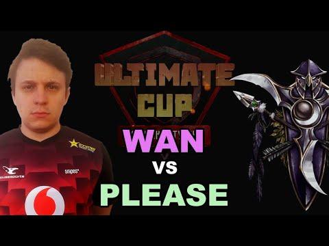 WC3 - Ultimate Cup - LB SF: [UD] WaN vs. Please [NE] (Group D]