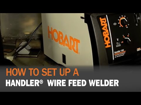 Setting up your Hobart Handler on old hobart welder parts, old hobart welder generator, old hobart welder manual,