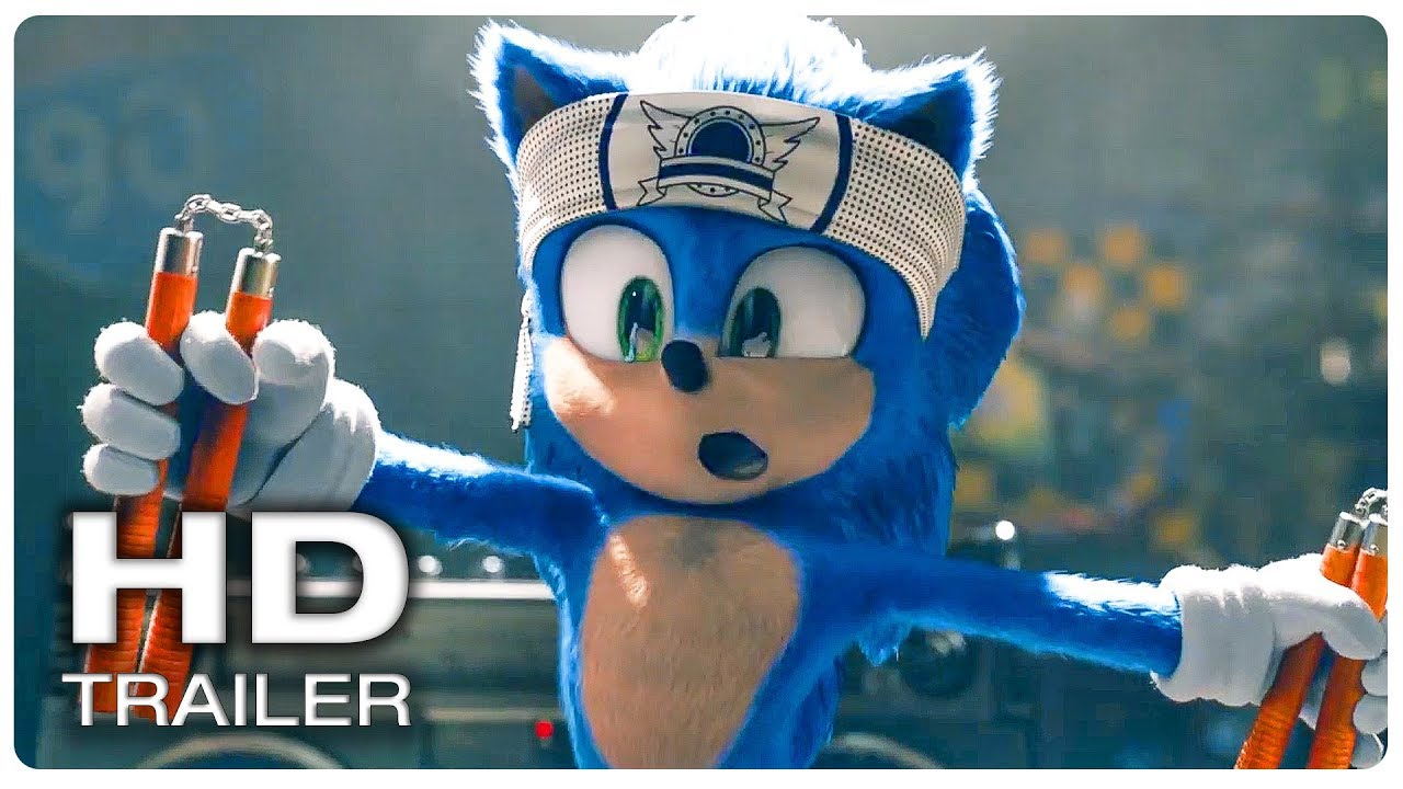 Sonic The Hedgehog Trailer 2 Official New 2020 Kids Family Movie Hd Youtube