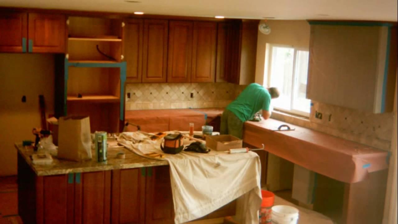 Time Lapse: Kitchen Remodel, San Jose 6