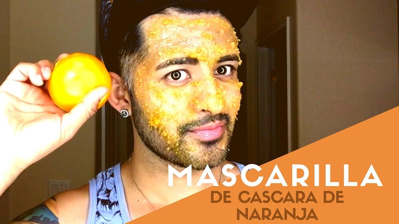 Propiedades de la cascara de naranja en la piel