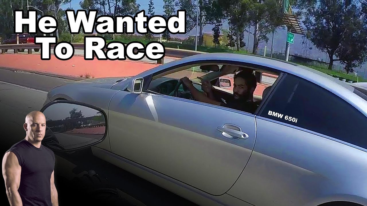 He Wanted to Race | Harley Davidson Vs BMW - YouTube