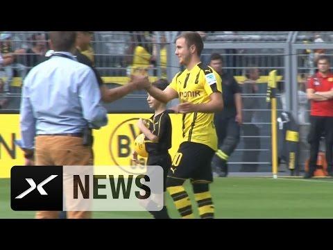 Jubel? Pfiffe? So klang der Mario-Götze-Empfang | Borussia Dortmund