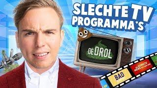 10 TV PROGRAMMA'S DIE HET NÉT NIET HEBBEN GERED!