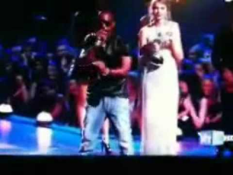 Kanye West Screws OverTaylor Swift  and gets OWNED (Actual footage!!! Not TV aired footage!!!)