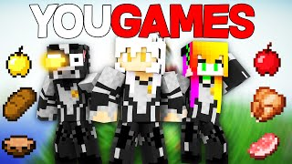 MINECRAFT | HUNGER GAMES DE YOUTUBERS | #YOUGAMES