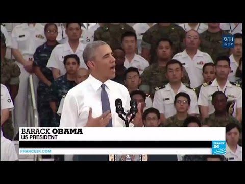 Obama in Hiroshima: US president visits Japanese city razed by atomic bomb