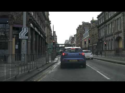 Liverpool City Centre Drive, Virtual Tour, England, UK 🇬🇧