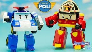 Robocar Poli robots transformables Poli Roy #francais 4k 로보카폴리 Робокар Полиen #Jouet #Juguetes