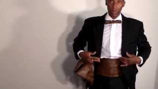 How to make the tuxedo set, part 1