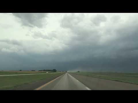 Kansas I-70W Highway 6 June 2017