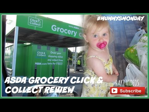 REVIEW OF OUR NEW ASDA GROCERY CLICK & COLLECT | #MUMMYSMONDAY