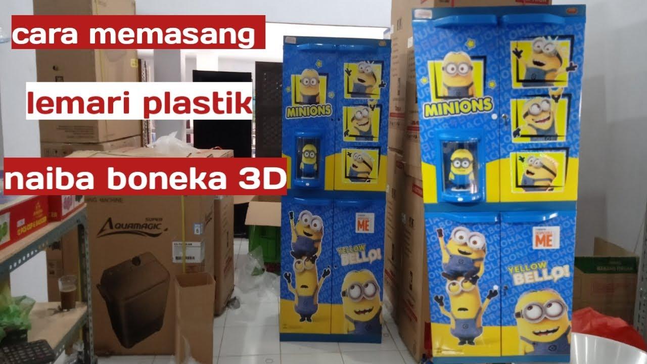 Cara Memasang Lemari Plastik Naiba Boneka 3d Youtube