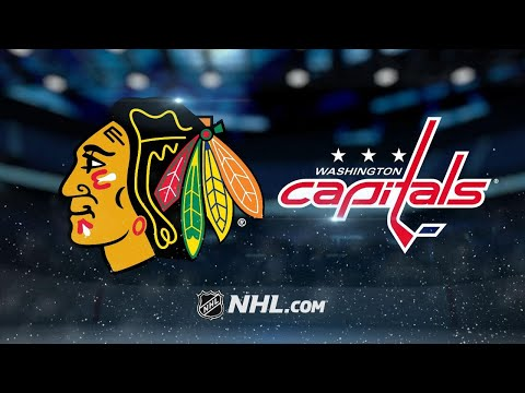 Wilson, Capitals roll through Blackhawks, 6-2