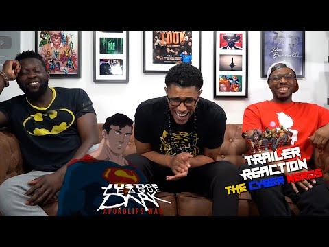 Justice League Dark Apokolips War - Exclusive Official Trailer Reaction!