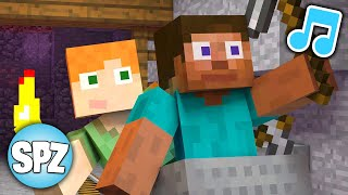 """♫ """"Digging Down"""" MINECRAFT SONG PARODY of Post Malone """"Better Now"""" Video"""