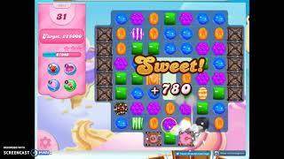 Candy Crush Level 1617 Audio Talkthrough, 2 Stars Mini Boost
