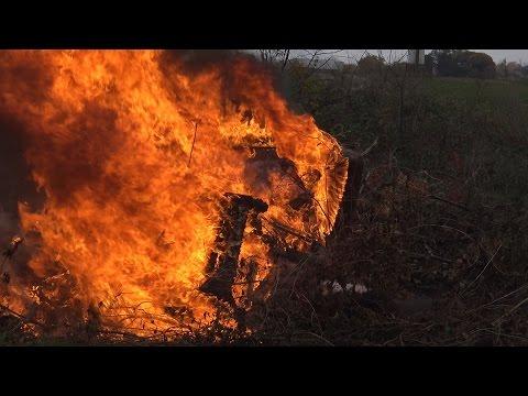 сожгли всё к ябяням