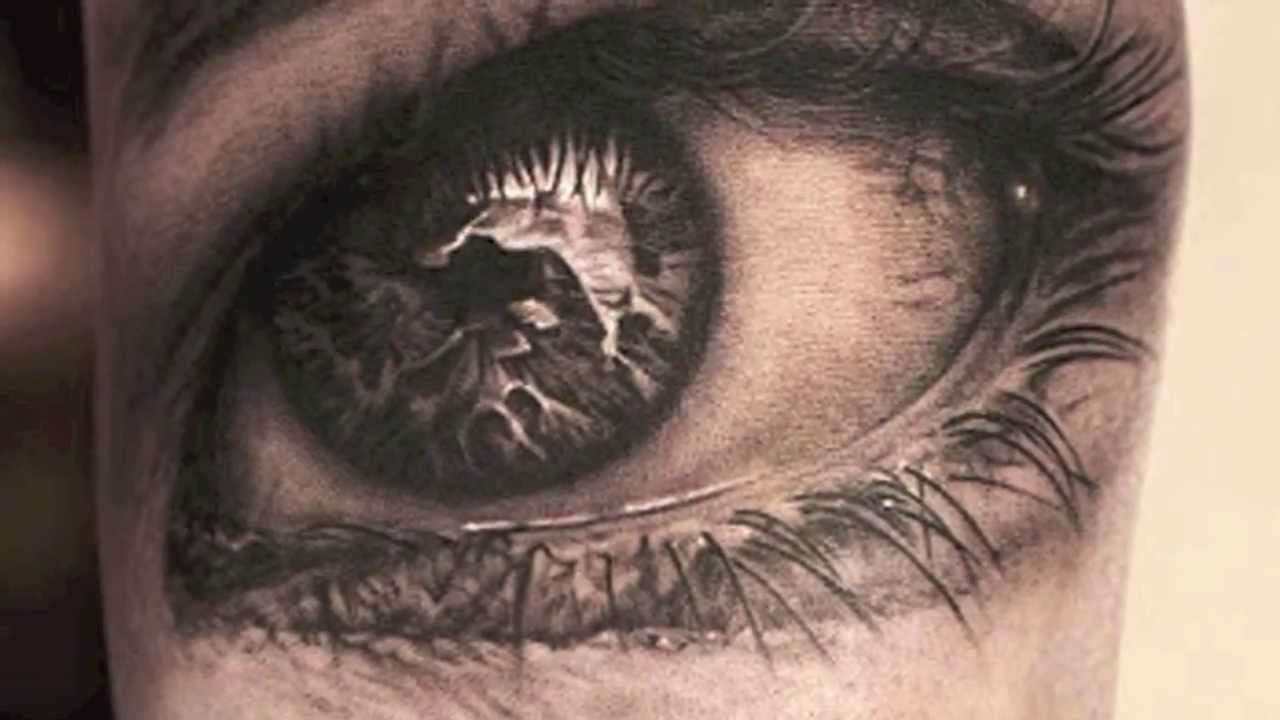 Top 10 Incredible Realistic Eye Tattoo Designs 2014