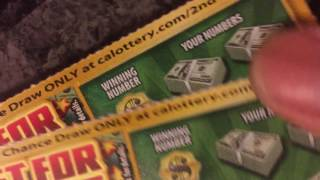 LUCKY FOR LIFE winners reveal!!! Ca lottery scratcher!!