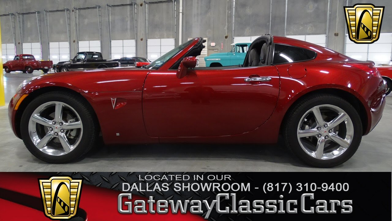 2009 Pontiac Solstice Stock #38 Gateway Classic Cars Dallas Showroom ...