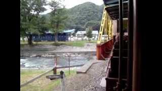 2010年9月11日 森林鉄道蒸気機関車「雨宮21号」/その1