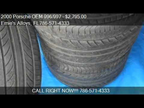 "2000-porsche-oem-996/997-18""-wheels/tires-(narrow-body)--"