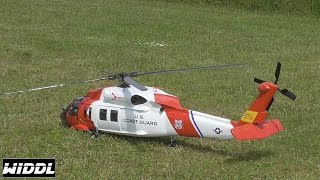 UH US Coast Guard Scale RC Helicopter FULL HD