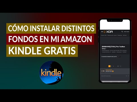 Cómo Instalar Distintos Fondos o Salvapantallas en mi Amazon Kindle Gratis