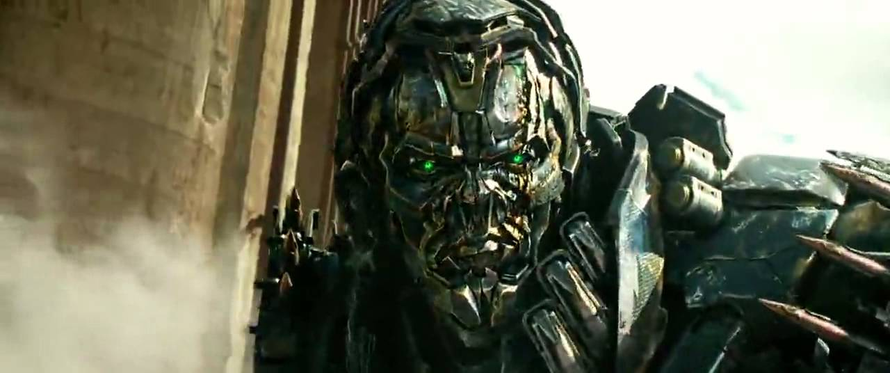 Optimus Prime And Lockdown Fight Transformers Age Of Extinction