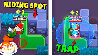 FELL INTO A *TRAP in HIDING SPOT*! Brawl Stars / Funny Moments & Fails & Glitches #171
