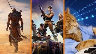 Assassin's Creed Goes to Greece? + Fortnite Biggest Game EVER? + RIP Keyboard Cat